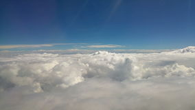 Border between land and sky from plane window. Video of border between land and sky from plane window stock footage
