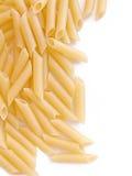 Border of macaroni stock photo