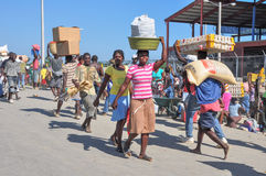 Border Market - Haiti and the Dominican Republic Stock Photos