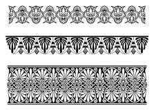 Border ornament. Vector border ornaments. decor elements for designers Stock Photo