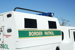 Border Patrol. Vehical in the field Royalty Free Stock Photography