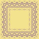 Border pattern Royalty Free Stock Images