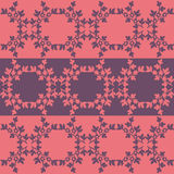 Border pattern decorative. Pink and purple Royalty Free Stock Photography