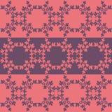 Border pattern decorative. Pink and purple stock illustration