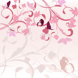 Border pink pattern Royalty Free Stock Image