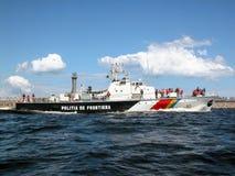 Border police ship Stock Image