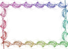 Border - Rainbow royalty free illustration
