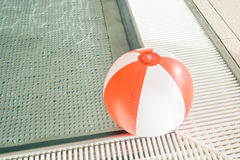Border of an rustles indoor baby pool Royalty Free Stock Photography