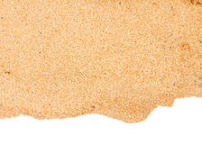 Border of sand Stock Image