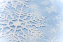 border snowflake Стоковые Фотографии RF