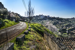 Border, Spain - Portugal Royalty Free Stock Photography