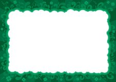 Border  for St. Patricks Day Royalty Free Stock Photography