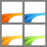 Border swoosh wave divided backgrounds Royalty Free Stock Image