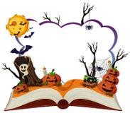 Free Border Template With Halloween Theme Stock Photos - 103039793