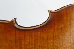 Border of the Violin Stock Photo