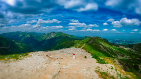 On the Border, Western Tatras Royalty Free Stock Photo