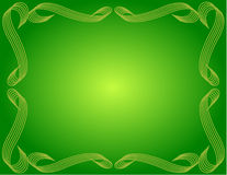 Bordered Background Green Gradient Stock Photos
