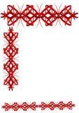 borderin азиата 3d Стоковое Изображение RF