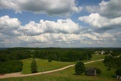Borderland landscape Stock Images