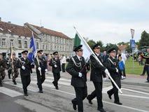 Borderline celebrate day, Lithuania Stock Photos