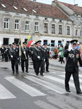 Borderline celebrate day, Lithuania Stock Photos