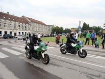 Borderline celebrate day, Lithuania Stock Photography