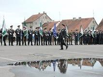 Borderline celebrate day, Lithuania Royalty Free Stock Photo