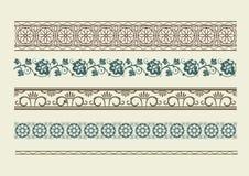 Borders. Set of for design. Retro Stock Photo