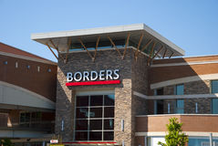 Borders Bookstore  Stock Photo