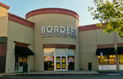 Borders Bookstore Royalty Free Stock Photo
