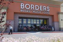 Borders Closes Stock Photo