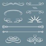 borders dekorativa prydnadar stock illustrationer