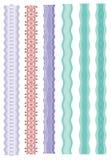 Borders - Design elements vector stock illustration