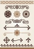 Borders, dividers and decorations Stock Images