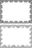 Borders and frames. Illustrated border and frame patterns Royalty Free Stock Images