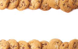 Borders made of cookies isolated