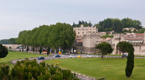 The borders of the old Avignon Royalty Free Stock Photo