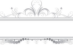 Borders with ornament. Borders with floral ornament. Illustration Royalty Free Stock Photo