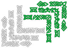 Borders and patterns in celtic Stock Photography