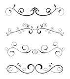 Bordes. Floral deaign elements -  web design element Royalty Free Stock Image