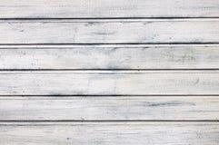 Bordi bianchi di legno per fondo Struttura di legno Immagine Stock