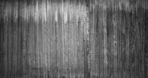 Bordi in bianco e nero del granaio immagini stock