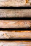 5 bordi con le fessure scure Fotografie Stock