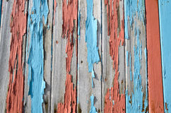 Bordi coperti di vecchia pittura Immagini Stock Libere da Diritti