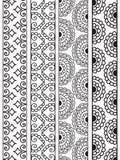 Bordi del hennè royalty illustrazione gratis