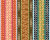 Bordi del hennè Fotografia Stock