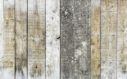 Bordi della quercia Immagine Stock