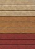 Bordi di colore Fotografie Stock