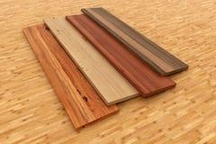 Bordi di legno illustrazione di stock