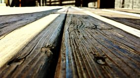 Bordi di legno anziani Immagine Stock